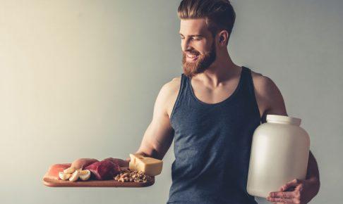 筋トレのときはタンパク質を摂ろう|筋肉はタンパク質から出来ています!
