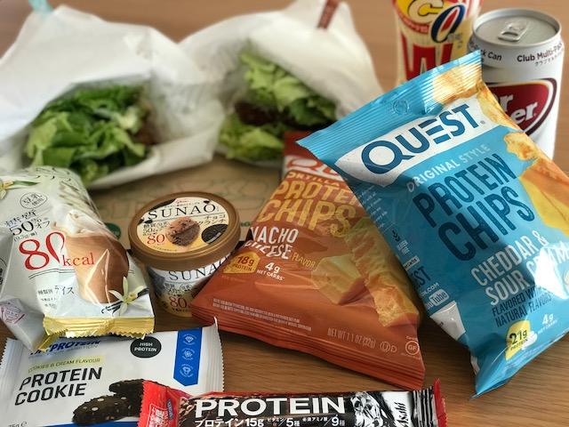 ダイエット中でも食べれる食べ物をまとめて爆食いしてみた!